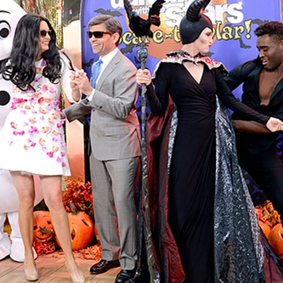 Good Morning America Stars Channel Prince George, Frozen's Elsa, Maleficent for Halloween: See Their Costumes!