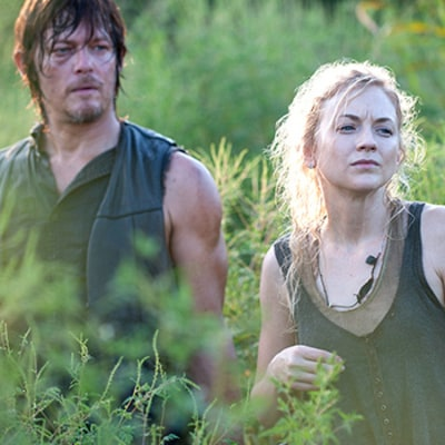 Emily Kinney Talks Shocking Walking Dead Midseason Finale Plot Twist