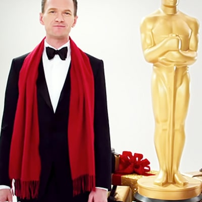 Neil Patrick Harris' First Oscar Promo Is Full of Holiday Cheer: Watch
