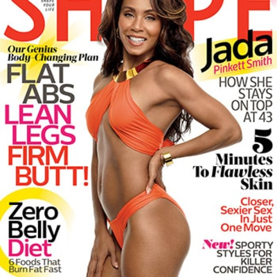 Jada Pinkett Smith Shows Off Ripped Abs, Toned Bod for Shape Magazine
