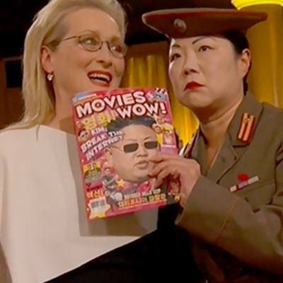 Margaret Cho Spoofs Kim Jong-un at 2015 Golden Globes, Mocks North Korean Leader Following Sony Hack: Watch