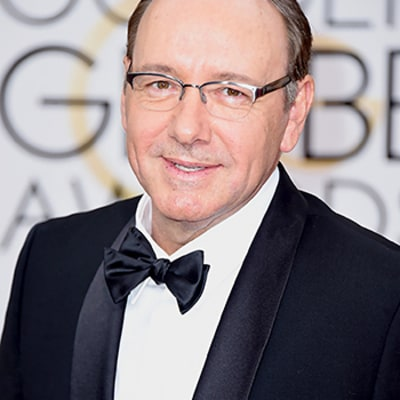 Kevin Spacey Drops F-Bomb During Best Actor Speech at Golden Globes 2015, Gets Bleeped