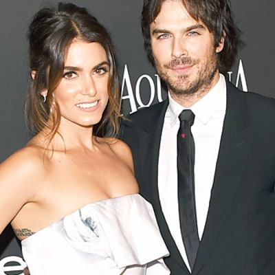 Ian Somerhalder and Nikki Reed Make Red Carpet Debut at Globes Bash