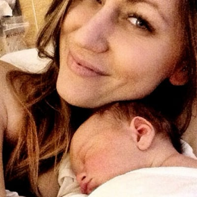 Renee Oteri Shares Adorable Photo of Newborn Son Jax, Is