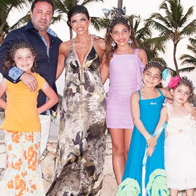 Teresa Giudice Gets First Prison Visit From Husband Joe, Daughters: Details