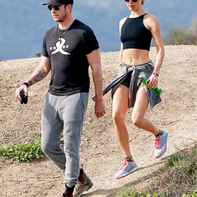 Dylan McDermott, Maggie Q Spotted Hiking After Engagement News Breaks: See the Pictures!