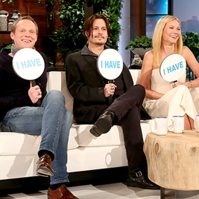 Gwyneth Paltrow, Johnny Depp Admit to Joining the Mile High Club in Never Have I Ever With Ellen DeGeneres: Watch