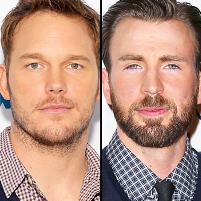 Chris Evans and Chris Pratt Make a Super Super Bowl Bet