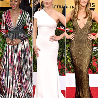 SAG Awards 2015 Red Carpet Fashion: What the Stars Wore