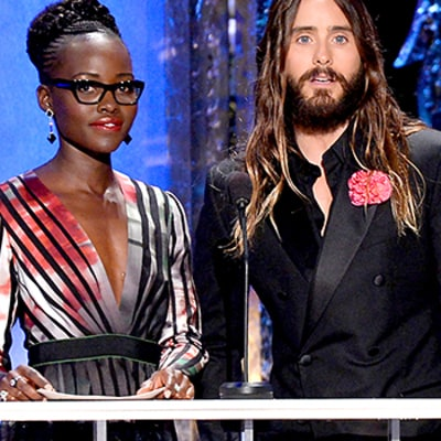 Lupita Nyong'o, Jared Leto Are Everyone's Favorite Imaginary Couple
