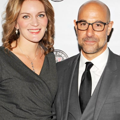 Stanley Tucci, Felicity Blunt Welcome Baby Boy Matteo Oliver to