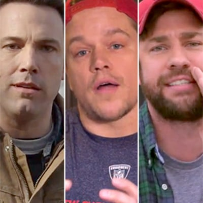 Ben Affleck, Matt Damon, John Krasinski Take Responsibility, Defend Tom Brady in Deflategate: Hilarious Video