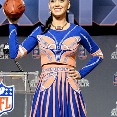 Katy Perry on Super Bowl Halftime Costumes: