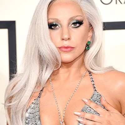 Lady Gaga Suffers Nip Slip on 2015 Grammys Red Carpet, Mistakes Ed Sheeran For a Waiter