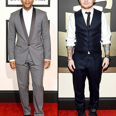 Grammys 2015 Red Carpet Fashion: Men in Tuxedos