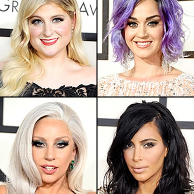 Grammys 2015 Beauty Breakdown: Red Carpet Hair, Makeup Looks