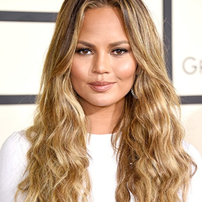 Chrissy Teigen Rocks Angelic Beach Waves at the 2015 Grammys: Details