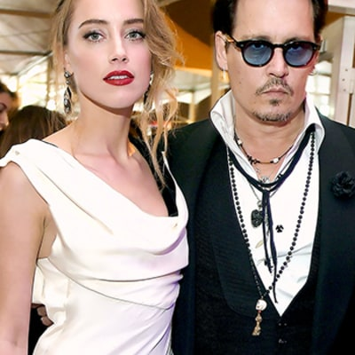 Johnny Depp Marries Amber Heard (Again) in the Bahamas