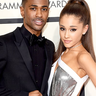 Ariana Grande and Big Sean Make Red Carpet Debut at the Grammys