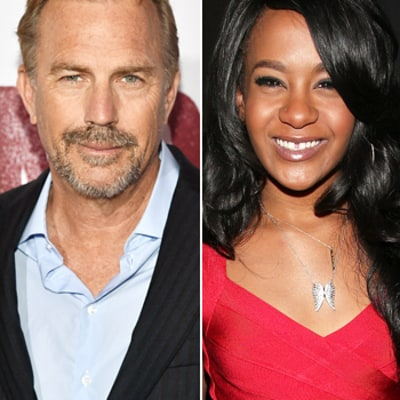 celebrity news kevin costner whitney houston cutest girl