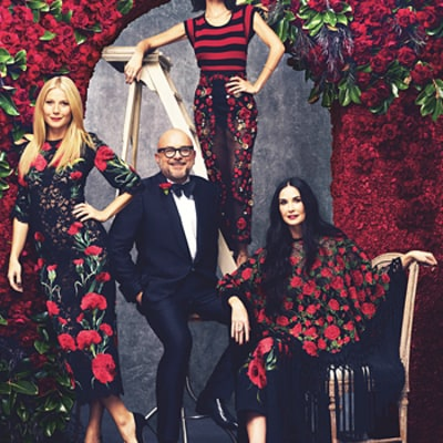 Gwyneth Paltrow, Demi Moore, Nicole Richie Rock Rose Headdresses, Are Perfection Inside Harper's Bazaar: Photos