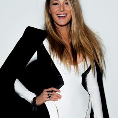 Blake Lively Makes First Post-Baby Public Appearance, Glows With Happiness at New York Fashion Week