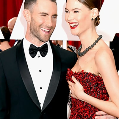 Oscars 2015 Awkward Red Carpet Moments: Behati Prinsloo Rejected By Adam Levine and More