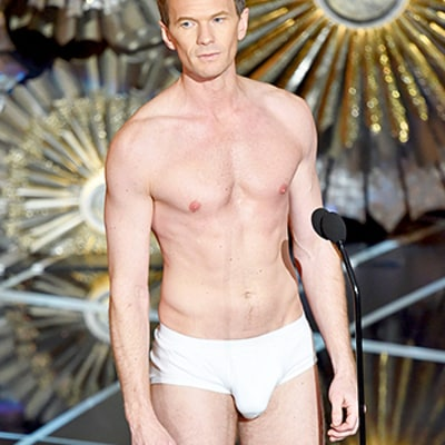 Neil Patrick Harris Strips Down to Underwear (With Fake Bulge), Spoofs Birdman, Whiplash at Oscars 2015: Watch Now!