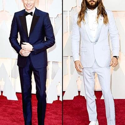 Oscars 2015 Red Carpet Fashion: Men in Tuxedos