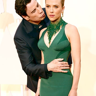 John Travolta Steals the Show With Creepy, Touchy Oscars Behavior: See All the Awkwardness in One Place!