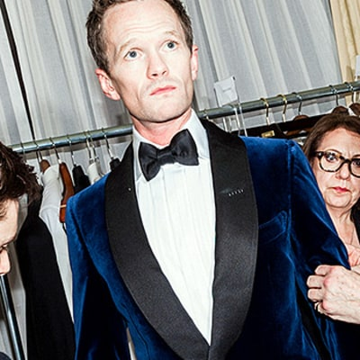 Neil Patrick Harris' Five Oscars Tuxedos: Go Behind the Scenes at His Week's Worth of Fittings!