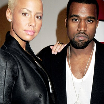 Amber Rose Fires Back at Kanye West on Twitter
