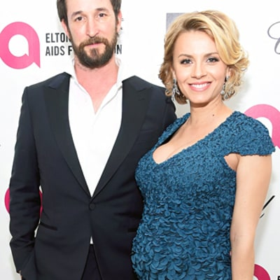 Noah Wyle's Wife Sara Wells Is Pregnant, Debuts Baby Bump At Oscars 2015 Afterparty -- See the Sweet Snap!
