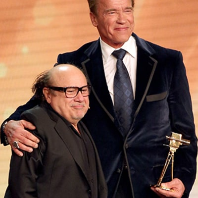Twins Reunion: Arnold Schwarzenegger Receives Lifetime Achievement Honor From Danny DeVito in Germany