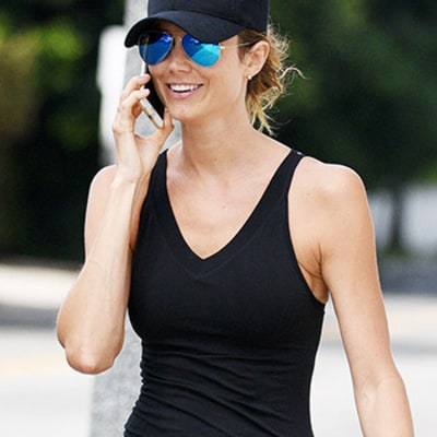 Stacy Keibler Looks Super Skinny Just Seven Months After Giving Birth — See the Pics
