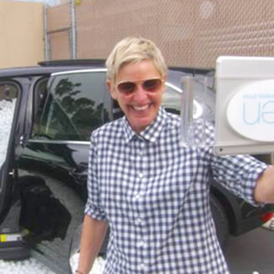 Matt Lauer Finally Gets Revenge on Ellen DeGeneres With Ping-Pong Ball Prank: Video