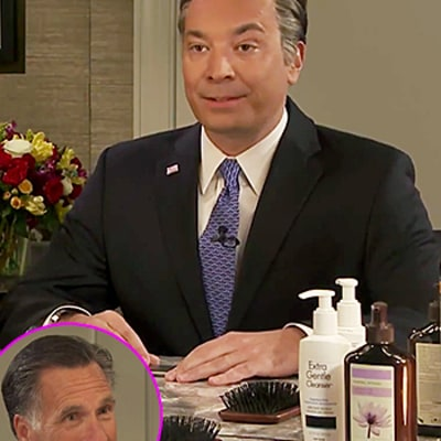 Jimmy Fallon Does Uncanny Mitt Romney Impression With Mitt Himself: Watch Video!