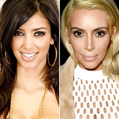 How Kim Kardashian's Face Has Changed Over the Last Decade in 4 Seconds: Watch the Mesmerizing GIF