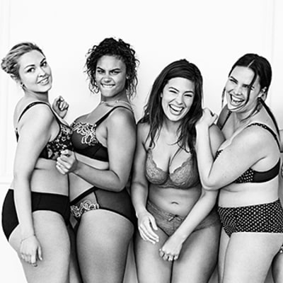 Plus-Size Lingerie Brands Remix Victoria's Secret Perfect Body Ads: See the Inspiring Campaigns