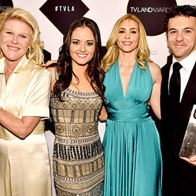 The Wonder Years, Freaks and Geeks, Ally McBeal Casts Reunite at 2015 TV Land Awards -- See Then-and-Now Pics!