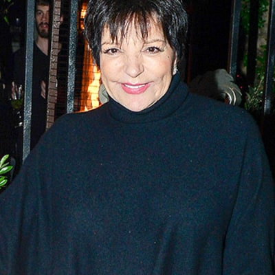 Liza Minnelli Exits Rehab, Is All Smiles While Dining at Lisa Vanderpump's Restaurant — Details