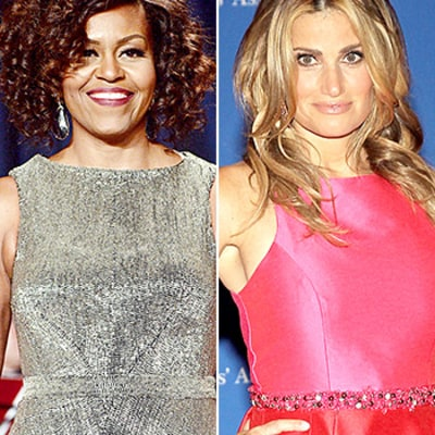 Michelle Obama Goes Curly, Idina Menzel Debuts Blonde Hair at the White House Correspondents' Dinner: See the Makeovers!