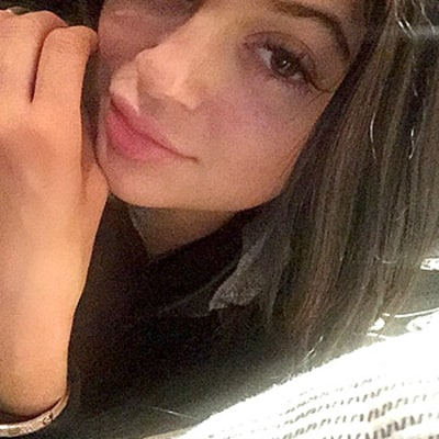 Kylie Jenner Bares Her Natural Lips Before Boasting a Bold Brown Lipstick Look