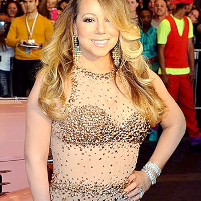 Mariah Carey Owns Vegas in a Sheer Sequined Gown: See Her Sexy Onstage Getup