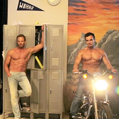 90s Hunks Joey Lawrence, Ian Ziering, David Chokachi, Antonio Sabato Jr. Are Hotter Than Ever, Go Shirtless for Us Weekly: Watch!