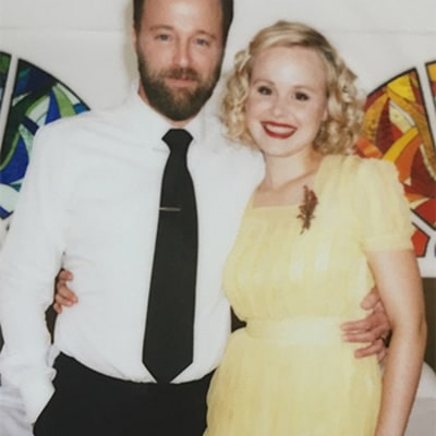 Alison Pill Marries Joshua Leonard in Yellow Wedding Dress: See Photos From the Newsroom Star's Nuptials