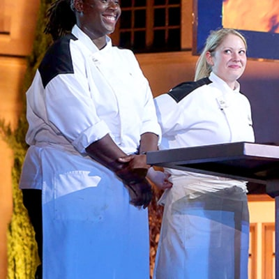 Hell's Kitchen Season 14 Finale: Get to Know Top 2 Chefs Meghan Gill and T Gregoire