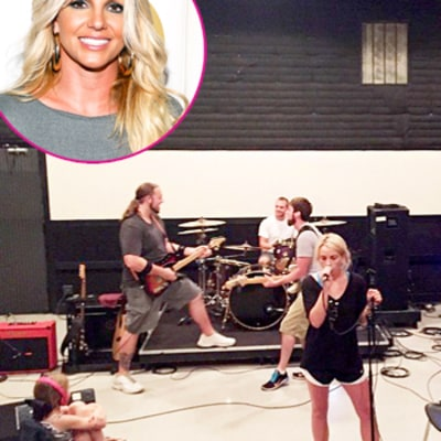 Britney Spears Gushes Over Jamie Lynn Spears' Daughter Maddie: Rehearsal Photo
