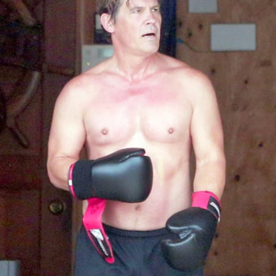 Josh Brolin Works Out Shirtless in His Garage, Looks Half His Age: Photo