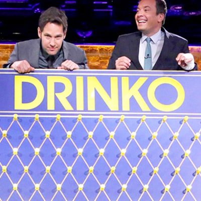 Jimmy Fallon, Paul Rudd Chug Gravy, Tequila in Wild Drinko Game: Watch